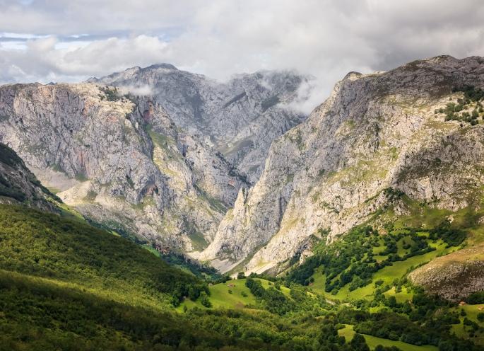 Asturian farms